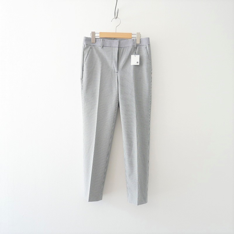 Theory luxe Lucent Check Amber パンツ 20SS